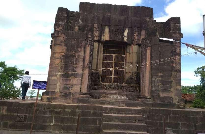 पहचान खोता जा रहा पुरातत्व वैभव का ऐतिहासिक मंदिर, जानिये क्यों