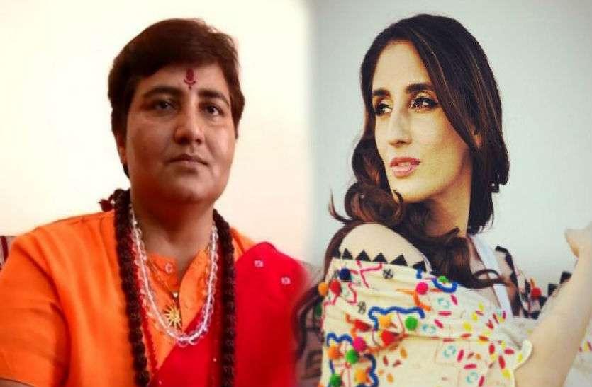 साध्वी पर भड़कीं संजय खान की बेटी, कहा- तुमने हिंदू धर्म का नाम बर्बाद किया है