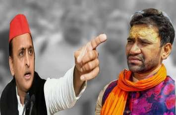अखिलेश यादव के खिलाफ निरहुआ और महेन्द्रनाथ पाण्डेय के बयान पर तिलमिलाई सपा ने दिया ऐसा जवाब