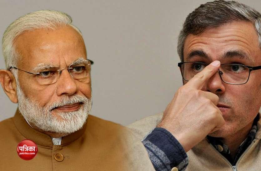 विंग कमांडर अभिनंदन को लेकर पीएम के बयान पर बरसे उमर, मोदी और चुनाव आयोग को सुनाई खरी-खरी