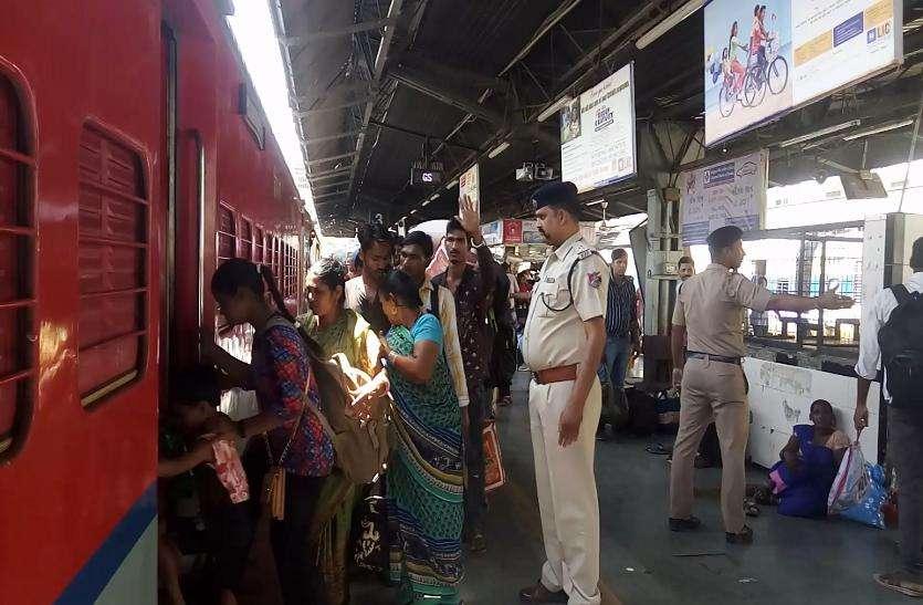 गर्मी वैकेशन में ट्रेनों में सीटों की मारामारी