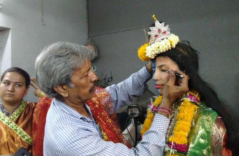 Dhinga Gawar Mela - स्वांग बनने पांच घंटे पहले ही पहुंची महिलायें