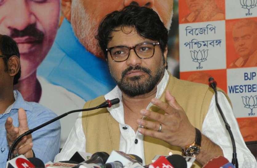 भाजपा सांसद बाबुल सुप्रियो के खिलाफ दो एफआईआर, चुनाव अधिकारी ने लिया बयान वापस