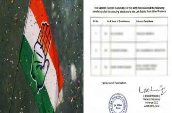कांग्रेस ने UP की तीन सीटों पर घोषित किया उम्मीदवार, इलाहाबाद लोकसभा सीट से इन्हें दिया टिकट