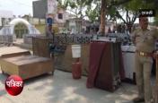 पुलिस टीम पर हमला करने वाले आरोपी के घर पुलिस ने की कुर्की, देखें वीडियो