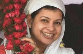 मालदह में तृणणूल कांग्रेस की मौसम बेनजीर नूर ने की पदयात्रा