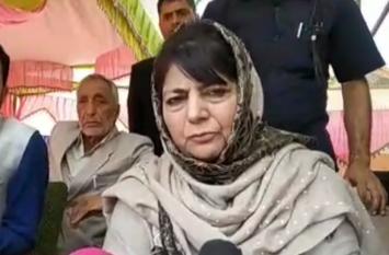 VIDEO: पीएम मोदी के 'दिवाली' वाले बयान पर बोलीं महबूबा:-पाकिस्तान ने भी 'ईद' के लिए नहीं बचाए परमाणु बम