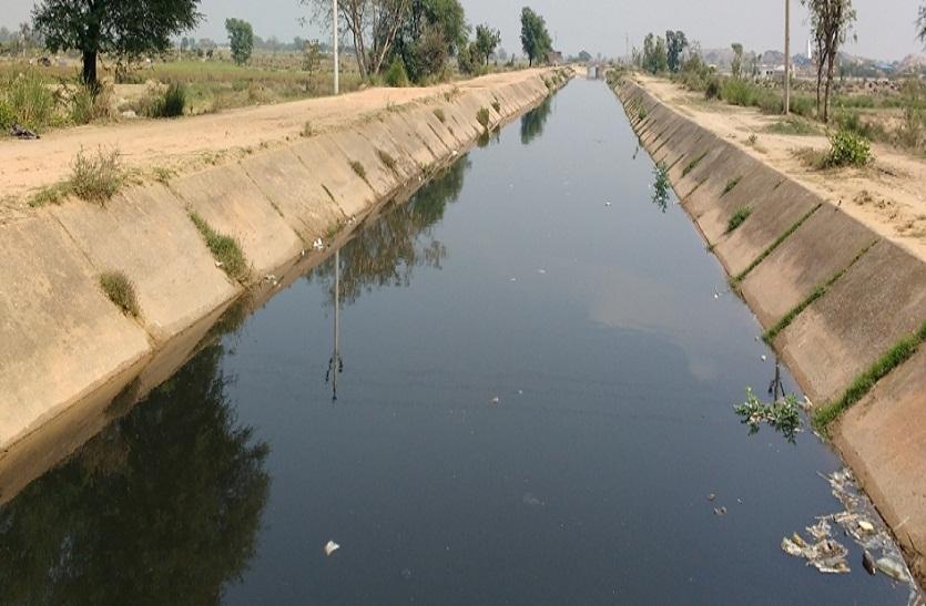 गुडग़ावां कैनाल: हर जुबां पर पानी ही पानी...फिर भी आज तक समस्या नहीं जानी