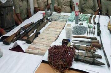 झारखंड पुलिस को मिली बड़ी सफलता, हथियारों का जखीरा बरामद, तीन गिरफ्तार