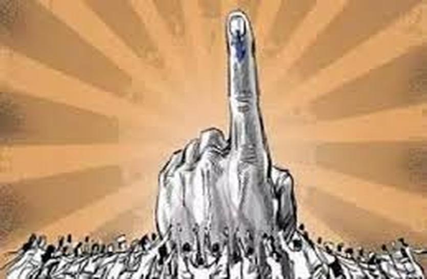 संसदीय क्षेत्र के तीसरे चुनाव में एक तिहाई रह गए प्रत्याशी