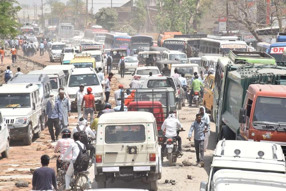 VoteKaren नही तो 5 साल तक रेंगता रहेगा शहर का यातायात, इन प्वाइंटों में अक्सर लगता है जाम