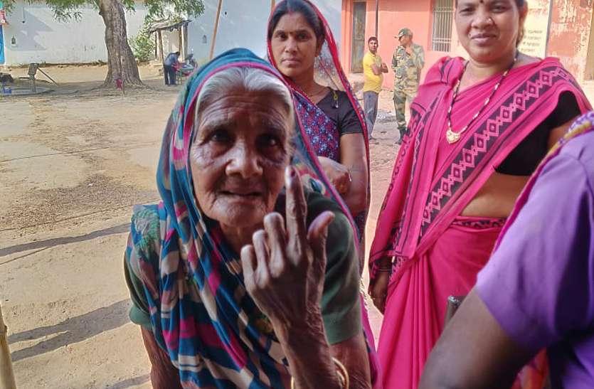 Social Pride : 95 की देवमती ने जिले में लोकतंत्र के महापर्व में दी पहली आहूति, मतदान कर चुना अपना प्रतिनिधि