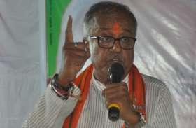 भाजपा पूर्व प्रदेशाध्यक्ष नंदकुमार सिंह का विरोध, ऑनलाइन भेजी चूडियां