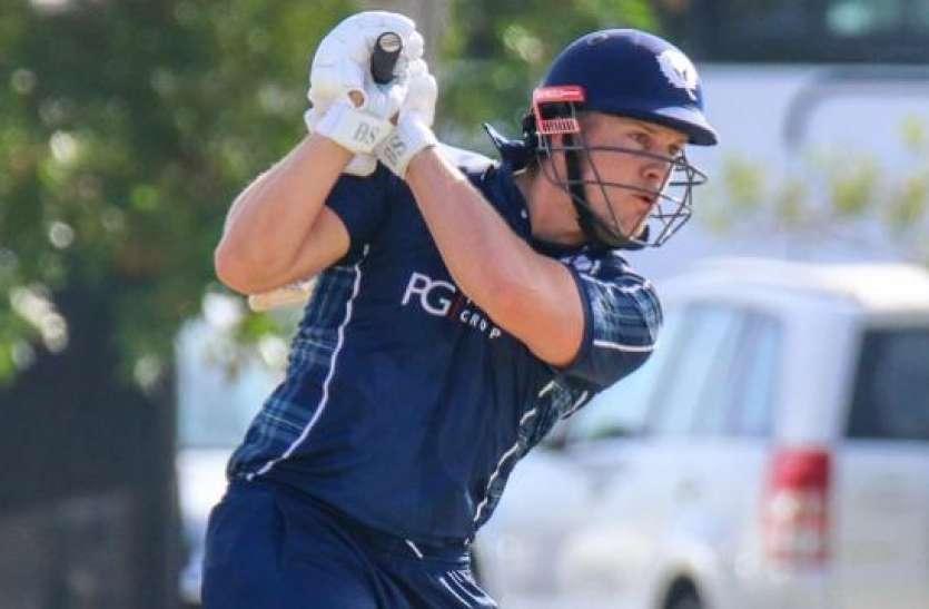 OMG: इस बल्लेबाज़ ने 25 गेंदों में ही ठोक दिया शतक, छह गेंदों में उड़ा दिए छह छक्के