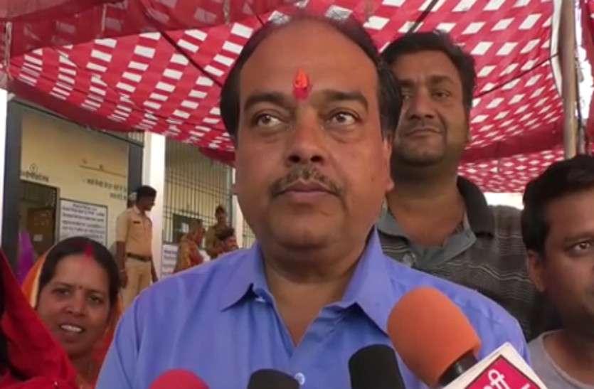 भाजपा प्रत्याश ज्योतिनंद ने कहा लोग निकलें घरों से बाहर, करें वोट