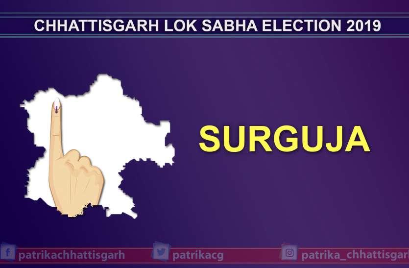 सरगुजा लोकसभा सीट पर अब तक हुआ 46.91 प्रतिशत मतदान,टी एस सिंहदेव समेत कई बड़े नेताओं ने किया मतदान