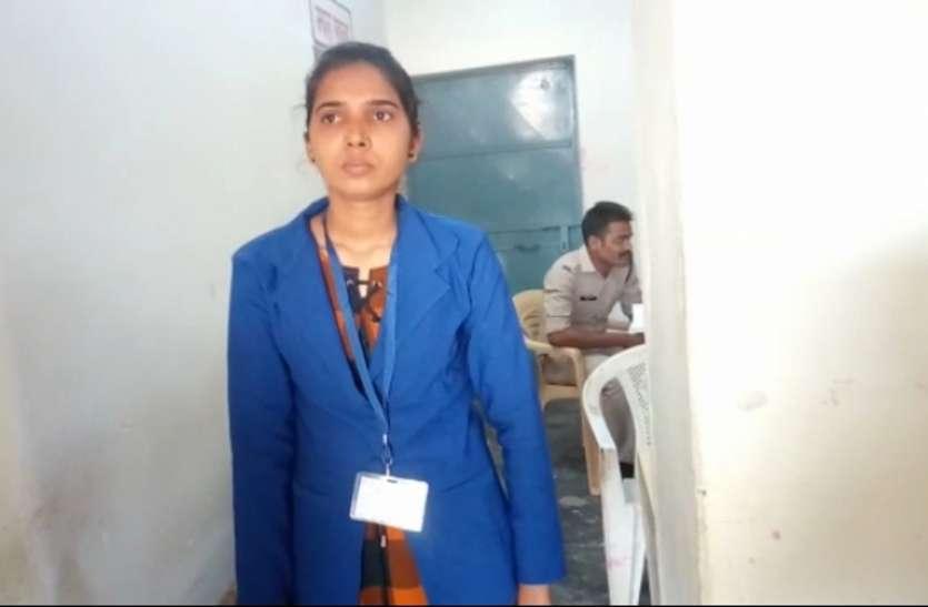 सोनवर्षा टोल प्लाजा मे महिला कर्मी के साथ मारपीट