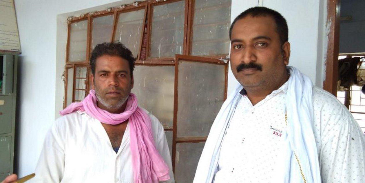 दिनारा में दो व्यापारियों से कट्टा अड़ाकर 35 हजार रुपए लूटे
