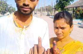 दक्षिण गुजरात में दोपहर तक 25 से30 प्रतिशत मतदान