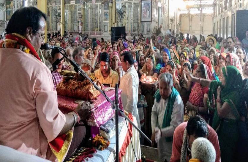 देखें वीडियो: करौली के इस मंदिर में कुछ यूं बरस रहा है भक्तिरस