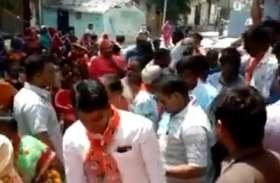 भाजपा प्रत्याशी गणेश सिंह का एक बार फिर सतना शहर में हुआ विरोध, जानिए इस बार क्या बोले लोग
