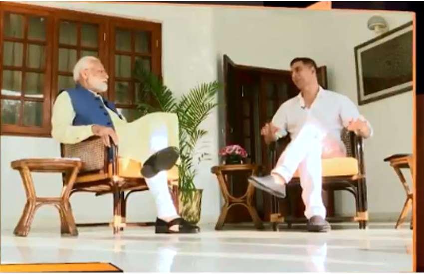 Narendra Modi Akshay Kumar