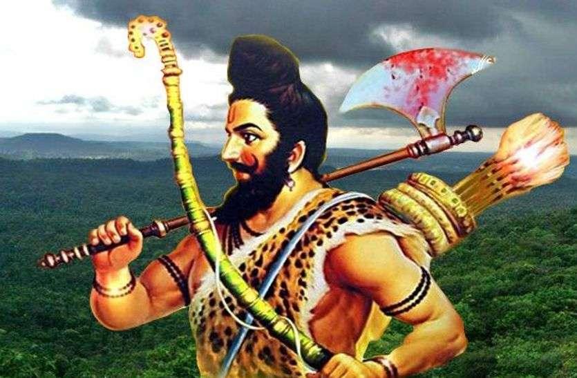 1100  दीपको से होगी भगवान परशुराम की आरती,रोशनी से जगमगा उठेगा परशुराम सर्किल