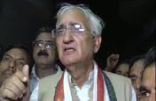 खुद को सीएम योगी का बाप कहने पर विदेश मंत्री सलमान खुर्शीद पर एनसीआर दर्ज