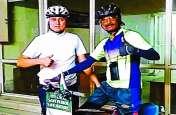 साइकिल से 40 हजार किमी की यात्रा पर निकला है ये शख्स, 28 हजार किमी कर ली पूरी