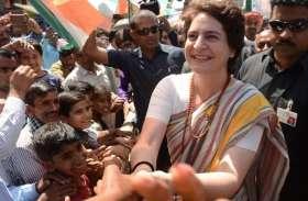 प्रियंका गांधी को जयपुर लाने की तैयारियां शुरू, कर सकती हैं सभा या रोड शो