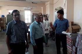 जयपुर से यहां पहुंचे परिवार कल्याण निदेशक, हॉस्पिटलों की जांची व्यवस्थाएं