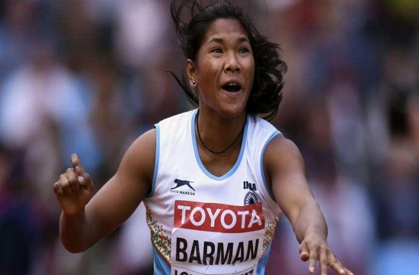 एशियाई एथलेटिक्स चैम्पियनशिपः स्वप्ना बर्मन ने जीता सिल्वर मेडल
