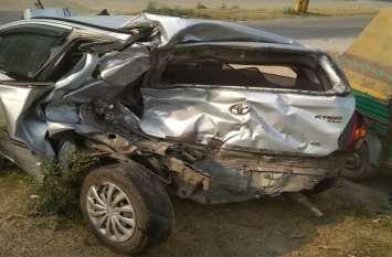 एलिवेटेड रोड की सुंदरता निहार रहे 2 कार सवार युवकों को तेज रफ्तार वाहन ने कुचला, मौत