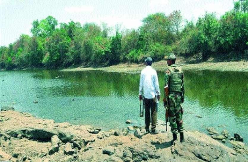 पानी चोरी रोकने के लिए सेना का पहरा