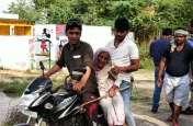 तस्वीरों में देखिए पुनर्मतदान का उत्साह, विकलांग और बूढ़ी माई ने भी डाला वोट