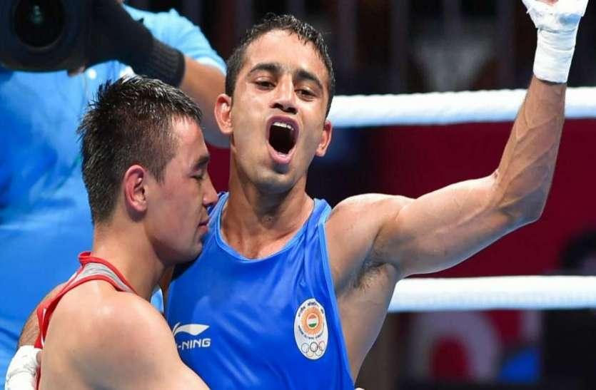 एशियाई बॉक्सिंग चैम्पियनशिप : अमित पंघल और पूजा का गोल्डन पंच