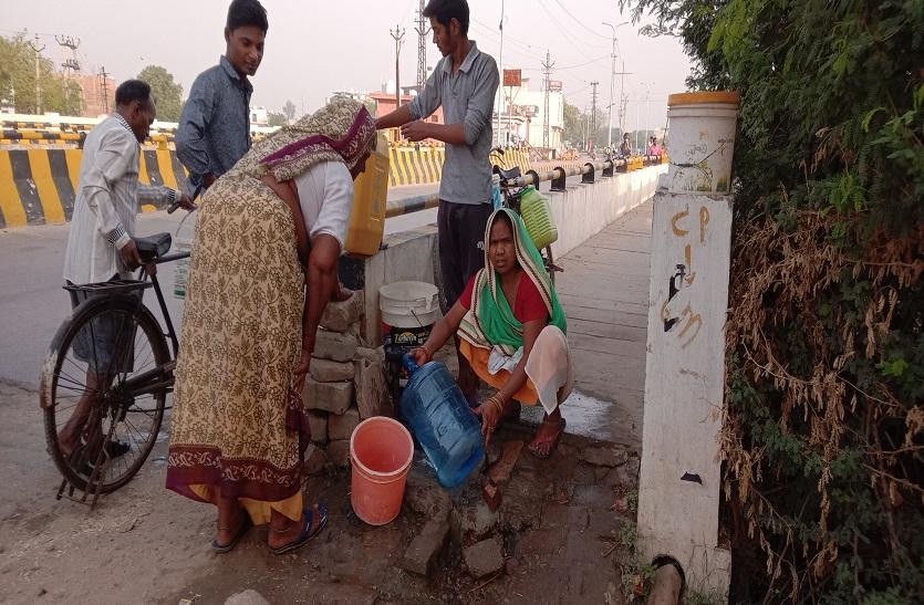 गर्मी में पानी की किल्लत पड़ेगी लोगों पर भारी