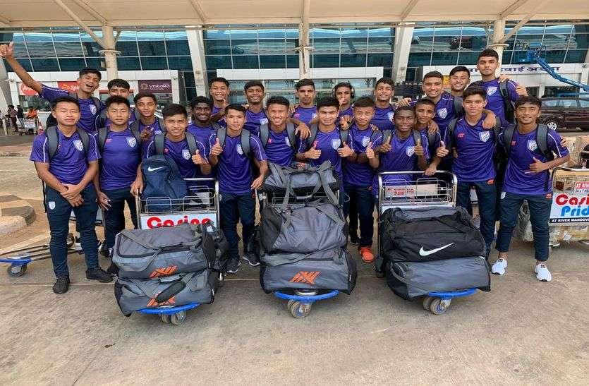 फुटबॉल : भारतीय अंडर-15 टीम खेलेगी मेक्सिको, अमरीका, स्लोवानिया जैसी दिग्गज टीमों से