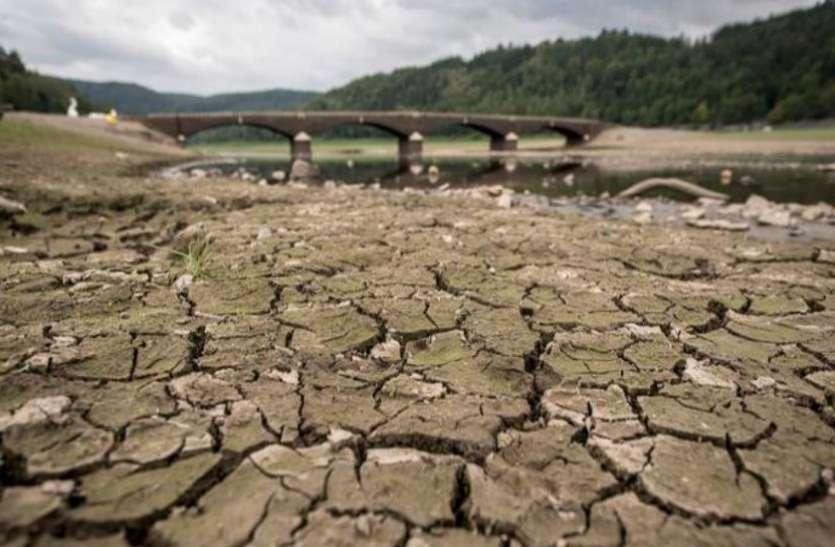 यूरोप में भीषण गर्मी, जर्मनी के 90 फीसदी क्षेत्र में पड़ा सूखा