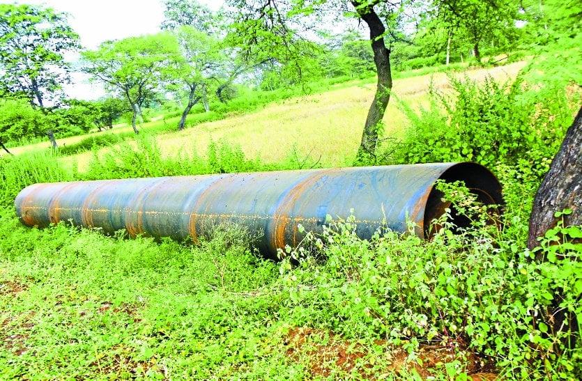 खरखरा से राजनांदगांव पानी लाने 222 करोड़ की पाइप लाइन बिछा दी, अब बांध की ऊंचाई दो फीट बढ़ाने की बात पर अटकी योजना