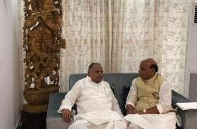 बिना बताये मुलायम के आवास पहुंचे गृहमंत्री राजनाथ सिंह, नेता जी रह गये हैरान, सामने आई यह बात