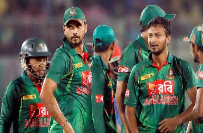 आयरलैंड और वेस्टइंडीज के खिलाफ त्रिकोणीय सीरीज के लिए बांग्लादेश की टीम घोषित