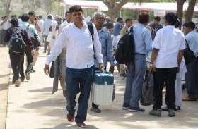 photos@...लोकसभा चुनाव 2019:मतदान केन्द्रों के लिए मतदान दल रवाना...देखें तस्वीरें