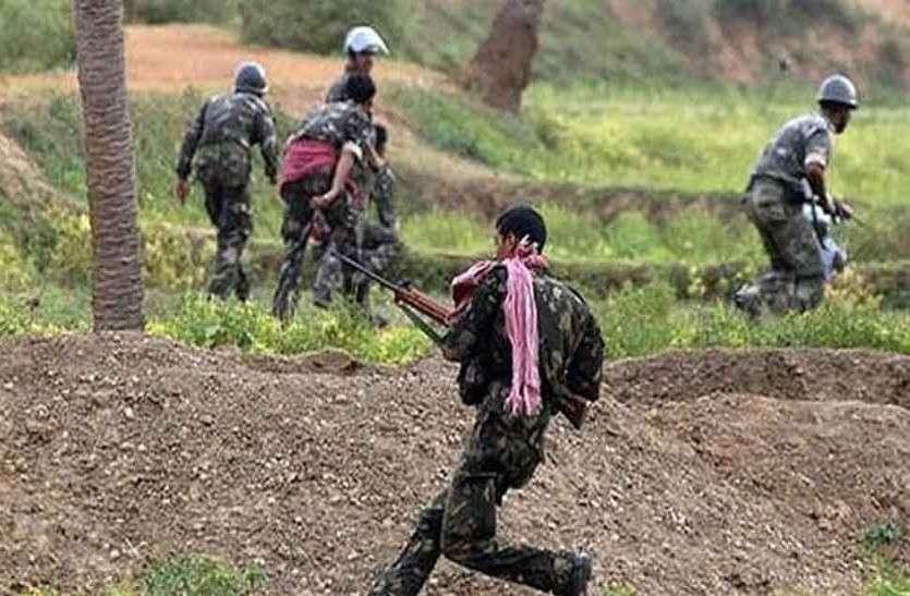 DRG के कैंप पर नक्सलियों ने किया हमला, फिर घायल जवानों का गला रेतकर मार डाला