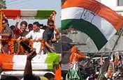 प्रियंका गांधी के रोड शो में एक महिला की मौत, नहीं गया किसी का ध्यान