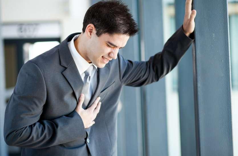 होने वाली कुल मौतों में एक चौथाई होते हृदयरोगी
