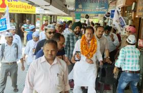 चंडीगढ में पन्द्रह साल से चली आ रही समस्याएं कायम,मुझे है जीत का पूरा भरोसा-हरमोहन धवन