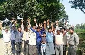 नाराज ग्रामीणों ने किया मतदान का बहिष्कार, वोटिंग मशीन होती रही बेकार, देखें वीडियो