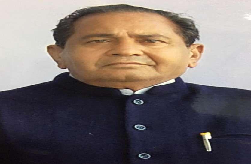 वरिष्ठ कांग्रेस नेता ठाकुर बलराम सिंह का 81 वर्ष की उम्र में निधन, जूझ रहे थे लंबी बीमारी से