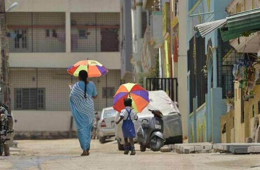 शहर में 60 फीसदी से अधिक क्षेत्र सूखा, अस्पतालों में बढ़ रहे लू के मरीज